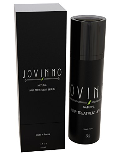 Jovinno 100 Natural HairBeard Treatment Serum Non-Greasy Repairs Dry Damaged Hair Increases Shine Anti-Frizz Gluten Free Paraben Free Sulfate Free Made in France
