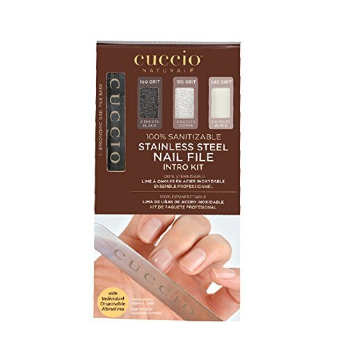 Cuccio Stainless Steel Nail File Intro Kit by Cuccio