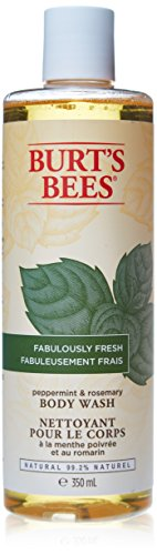 Burts Bees Body Wash Peppermint Rosemary
