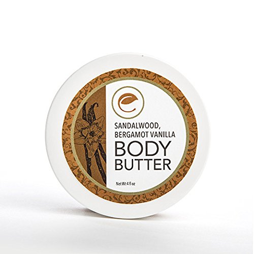 Eve Organics Sandalwood Bergamot Vanilla Body Butter 4 oz
