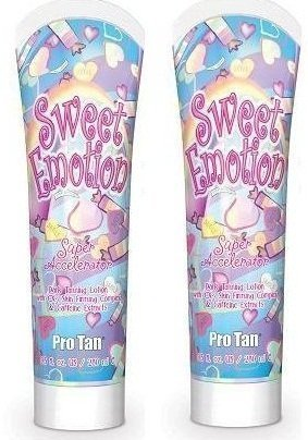 2 X Pro Tan Sweet Emotion Sunbed Lotion Tanning Cream by ProTan
