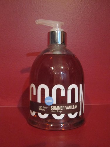 Bath Body Works Summer Vanillas Coconut Hand Soap 135 fl oz