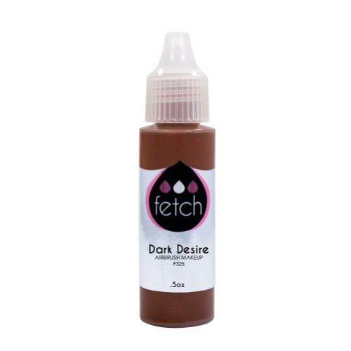 Fetch Foundation DARK DESIRE Airbrush Makeup Face Spray Cosmetics 5 oz Bottle