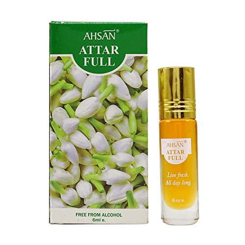 Ahsan Jasmine Fresh Natural Fragrance Perfume Attar Full Live Fresh - 6 ml by Ahsan