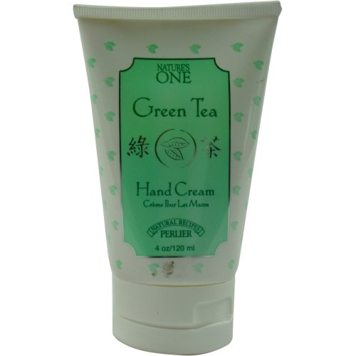 PERLIER by Perlier Green Tea Hand Cream--125 ml42oz for WOMEN ---Package Of 5