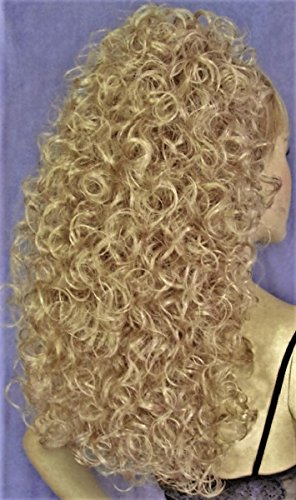 BONNIE Curly Banana Clip Hairpiece by Mona Lisa - 22 Light Ash Blonde