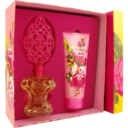 BETSEY JOHNSON by Betsey Johnson EAU DE PARFUM SPRAY 34 OZ BODY LOTION 67 OZ for WOMEN ---Package Of 6