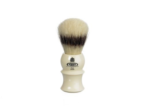 White socket pure bristle badger effect brush by KENT by Kent
