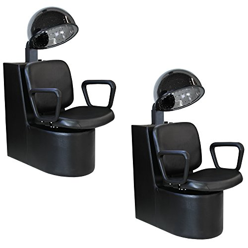 Salon Package x 2 Liberty Box Dryers with Chairs DC-11 HD-64983