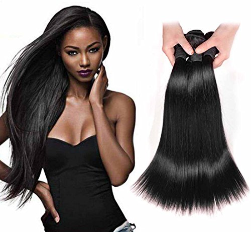 Angel Hair  Brazilian Virgin Remy Human Hair Straight Extension 3pcs 202224 100 Brazilian hair Bundles Weaves