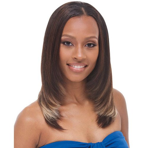 Janet Collection Synthetic Hair Weave Noir Yaky Weave 14 FR1B350