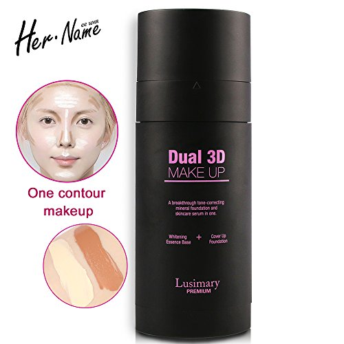 Hername bb cream foundation 3D Double shadow Concealer glow kit imagic base makeup brand cream base facial Moisturizing