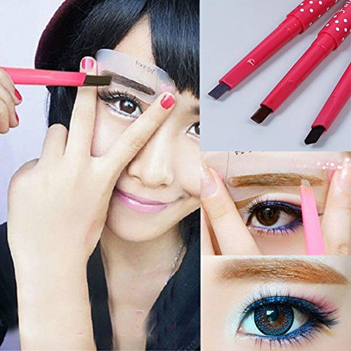 Waterproof Eyebrow Pencil Eye Brow Liner Powder Shapper Makeup Tool Black