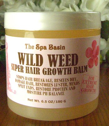 Wild Weed Super Hair Growth Formula Soften and Moisturize Dry Frizzy Hard to Manage HairAnti-Breakage FormulaSilky Soft Hair65 Oz180 G