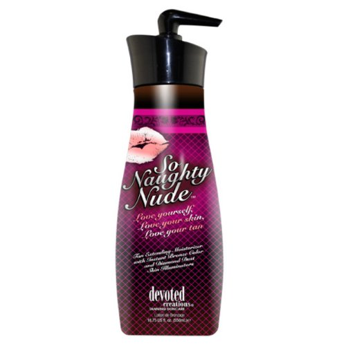 Devoted Creations So Naughty Nude Tan Extending Moisturizers - 1875 oz
