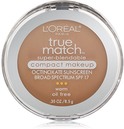 Loreal Paris True Match Super Blendable SPF17 Natural Beige Foundation Makeup -- 2 per case