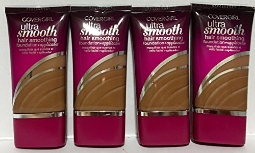CoverGirl Ultra Smooth Foundation 865 Tawny Pack of 4