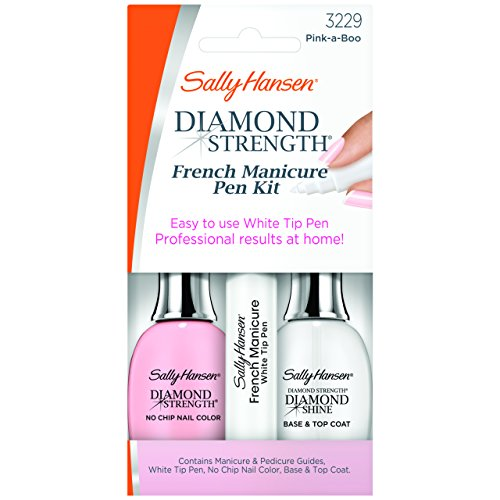 Sally Hansen Treatment Diamond Strength French Manicure Pen Kit Pink-A-Boo 3229 045 Fluid Ounce