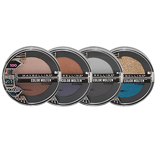 Maybelline New York Eye Studio Limited Edition Color Molten Cream Eye Shadow Set 4-Piece Collection