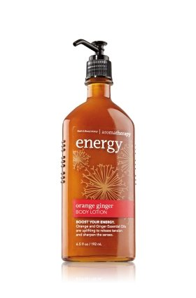 Energy Aromatherapy Body Lotion ORANGE GINGER