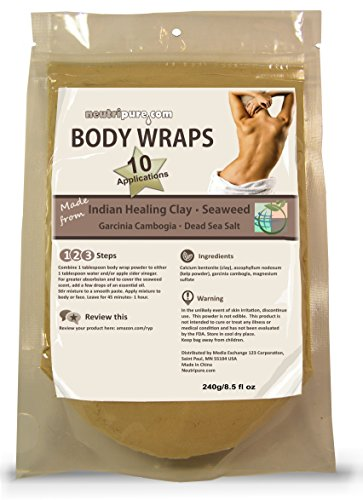 Diy Slimming Body Wrap: Spa Formula For Home Use: Seaweed
