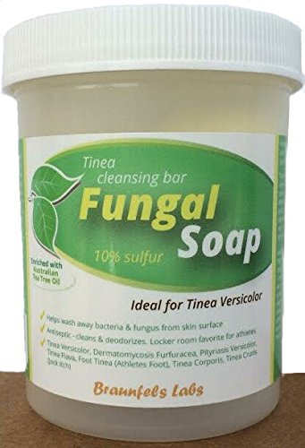 Fungal Soap - Tinea Versicolor Tinea Corporis Foot Tinea Athletes Foot Tinea Cruris Jock Itch