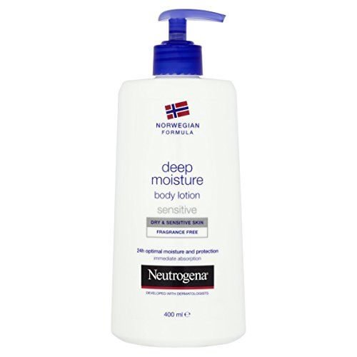 Neutrogena Norwegian Formula Deep Moisture Body Lotion - Dry Sensitive Skin 400ml