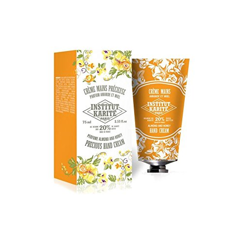 Institut Karité Paris Shea Hand Cream So Precious - Almond and Honey 75ml Pack of 4
