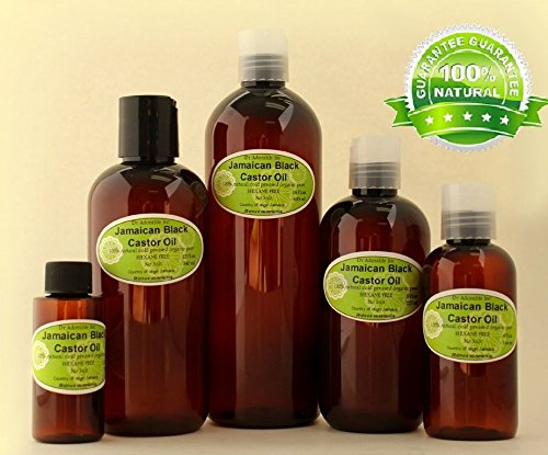 Peppermint Jamaican Black Castor Oil Premium Best Natural 100 Pure Organic Healthy Hair Care 12 oz