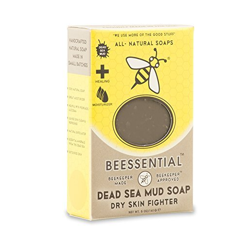 Beessential Dead Sea Soap Mud 5 Ounce by Beessential