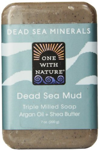 One With Nature One With Nature Dead Sea Mud Dead Sea Minerals Soap 7 Ounce Bar