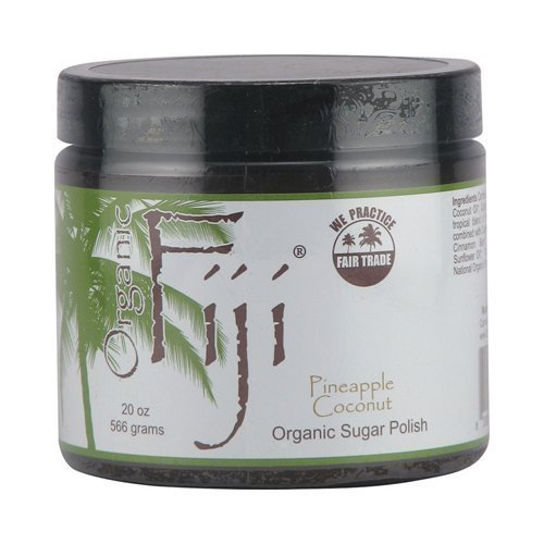 ORGANIC FIJI Organic Fiji Face and Body Sugar Polish Pineapple Coconut - 16 Oz Pack of 2