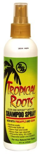 BB Tropical Roots Shampoo Spray 8 oz by Bronner Brothers