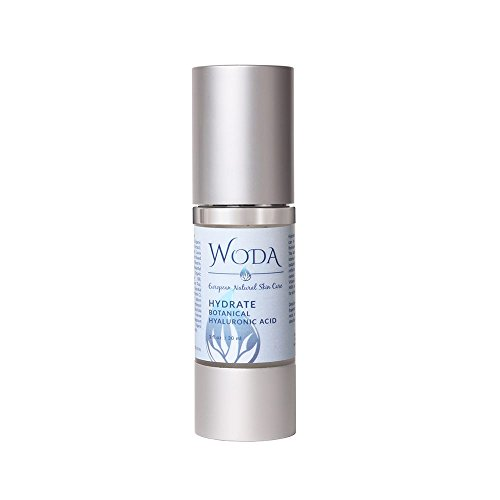 WODA Hydrate Botanical Hyaluronic Acid Serum - Anti-Aging Hydrating Face Serum - Revitalized Rejuvenate Your Skin -Radiant Youthful Glow - All Natural Ingredients with Aloe - 1oz