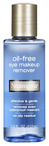 Neutrogena Gentle Oil-Free Eye Makeup Remover Cleanser for Sensitive Eyes Non-Greasy Makeup Remover Removes Waterproof Mascara Dermatologist Ophthalmologist Tested 38 fl oz  Pack of 6