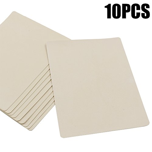 CINRAÂ 10 Sheet 8x6 Double Sides Blank Tattoo Practice Skin For Needle Machine Ink For Makeup tattoo practice fake skin traditional tattoo supplies