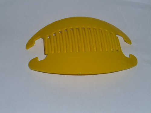 Interlocking Banana Combs Hair Clip French Side Combs HolderYellow