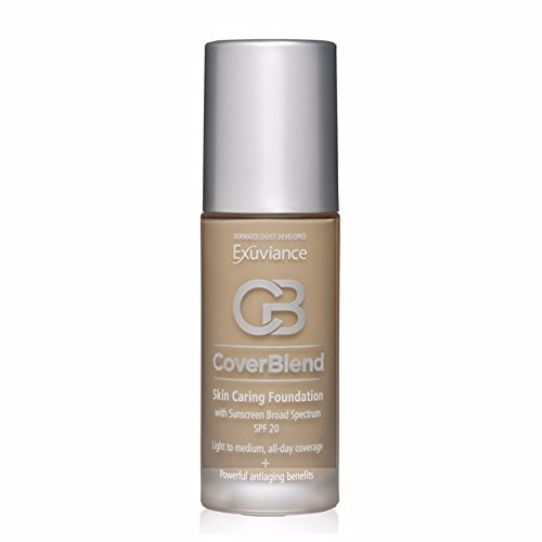Exuviance - CoverBlend Skin Caring Foundations SPF 20 Toasted Almond