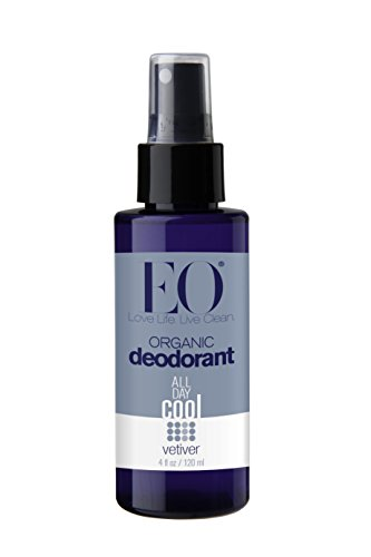 Eo Organic Deodorant Spray Vetiver 4 Fluid Ounce