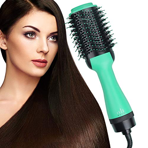 SubClap Hair Dryer Brush Hot Air Spin Comb 3 in 1 DryStraightenCurl Electric Blow Dryer Hair Negative Ionic Straightening and Curly 3 Modes Hair Comb Styling Brush Styler for Women