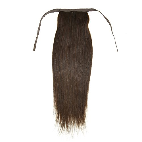 12 Inch-32 Inch30cm-80cm 100 Human Hair Beauty Straight Wrap Around Ponytail Extensions for Women 100g and 11 Colors Available 22inch 2