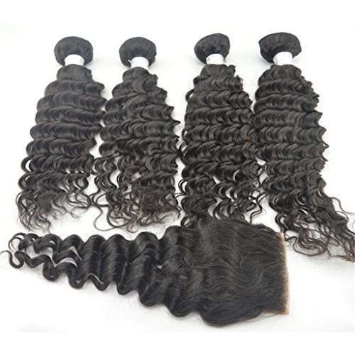 Zenith 10121416weft10closure Deep Weave Virgin Remy Malaysian Hair Top Lace Closure 100 Remy Hair Extensions Human Hair Weave Sale