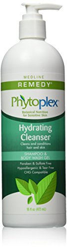 Medline Remedy with Phytoplex Hydrating Cleansing Gel 16 Fluid Ounce Packaging may vary