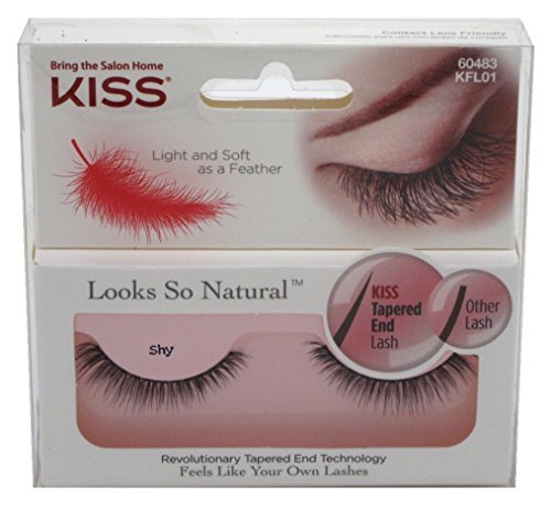 Kiss Products Looks so Natural Lashes Shy 003 Pound Pack of 3