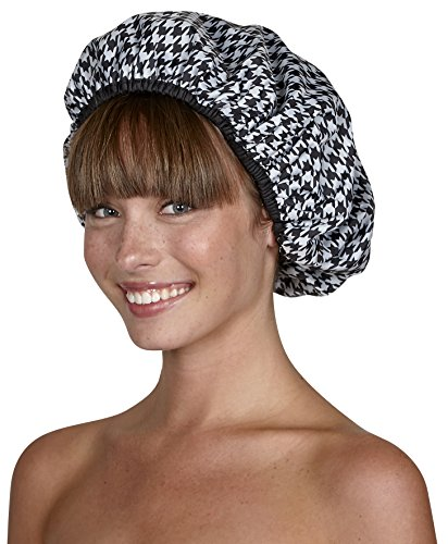 Betty Dain Stylish Design Terry Lined Shower Cap, The