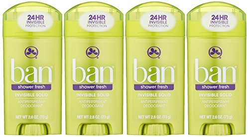 Ban Antiperspirant Deodorant Invisible Solid Shower
