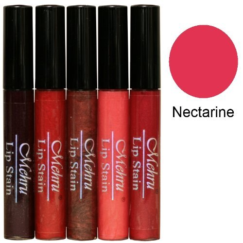 Mehru Lip Stain Natural All-day Long Lasting Lip Tint Nectarine by Mehru