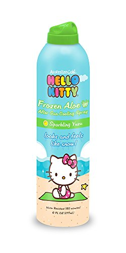 Hello Kitty Frozen Aloe After Sun Cooling Spray 6 Ounce