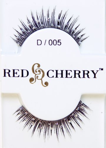 Red Cherry Fashion Faux Eyelash Extensions--Straight with Glitter Dots by Red Cherry