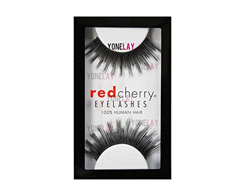 Red Cherry False Eyelashes 5 Pack of 3